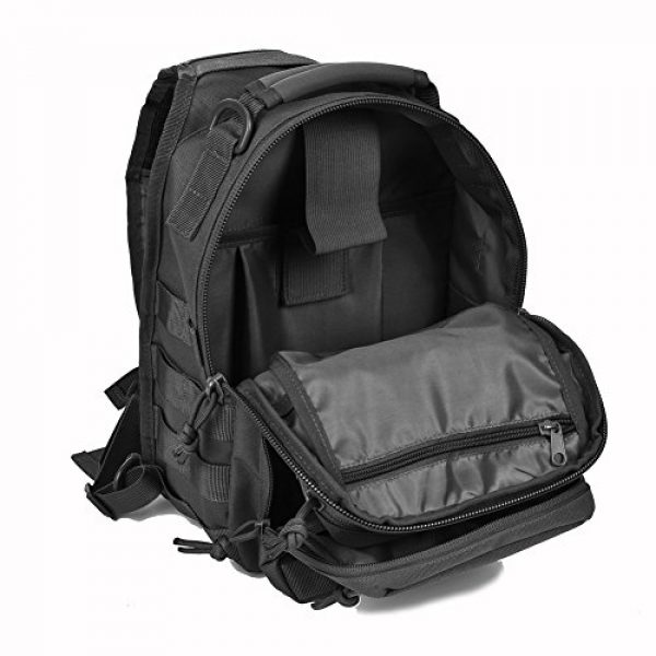 REEBOW GEAR Tactical Backpack 7 REEBOW GEAR Tactical Sling Bag Pack Military Rover Shoulder Sling Backpack Small