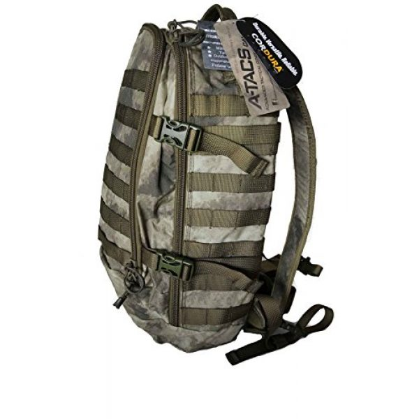 Hanks Surplus Tactical Backpack 2 Hank's Surplus Military Molle Travel Hiking Day Backpack