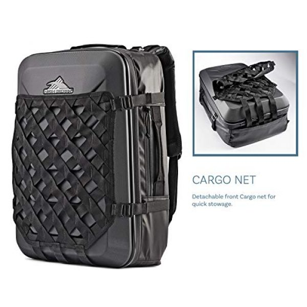 High Sierra Tactical Backpack 4 High Sierra OTC 35L Carry-on Weekender Suitcase Luggage - Ideal for Travel and Laptop Backpack