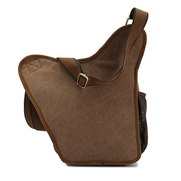 INNTURT Tactical Backpack 3 INNTURT Tactical Oxford Sling Chest Bag Molle Messenger Assault Shoulder Bag Backpack
