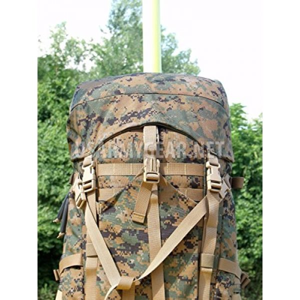 Propper Industries Tactical Backpack 6 Usmc Gen 2 Marpat Tan Woodland Ilbe Main Pack with Lid Belt Complete Arcyteryx