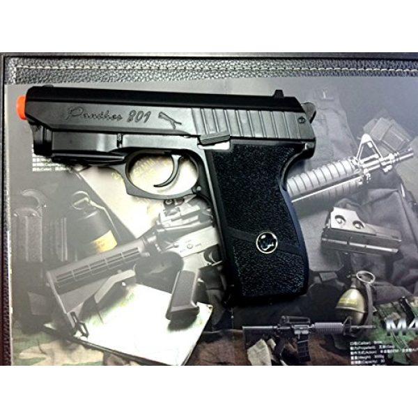 WinGun Airsoft Pistol 6 cbb-4801 WinGun full metal semi auto co2 blowback pistol with free safty shooting glasses and free target trip tent(Airsoft Gun)