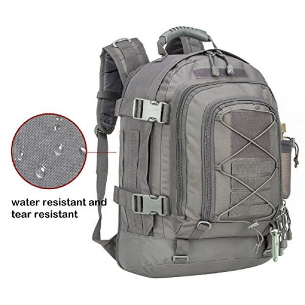 ARMYCAMO Tactical Backpack 3 Outdoor 3 Day Expandable 40-64L Backpack Military Tactical Hiking Bug Out Bag