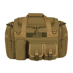 "East West U.S.A Tactical Backpack 1 East West U.S.A Tactical Outdoor Multi Pockets Heavy Duty 18"" Duffel Bag"