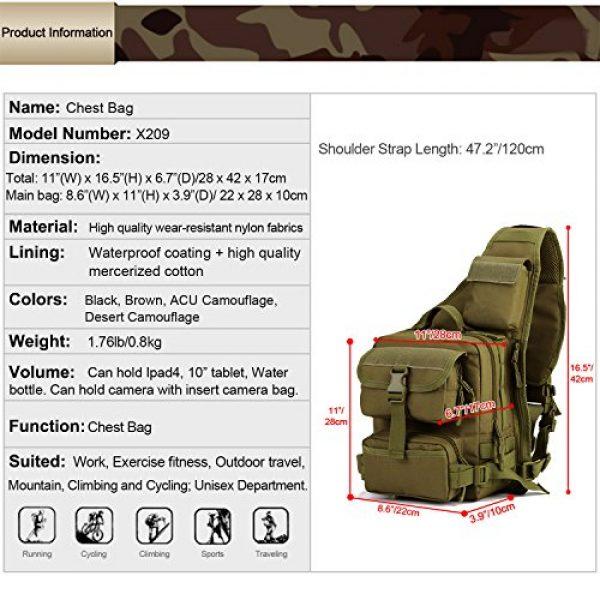 Huntvp Tactical Backpack 2 Huntvp Tactical Military Sling Pack Chest Daypack Molle Backpack Shoulder Bag