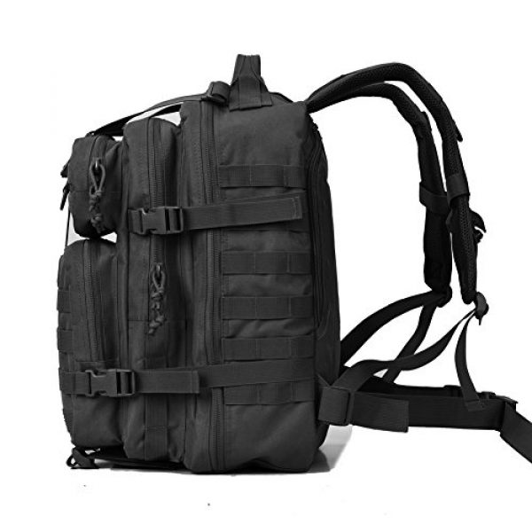 REEBOW GEAR Tactical Backpack 4 REEBOW GEAR Military Tactical Backpack 3 Day Assault Pack Army Molle Bag Backpacks Rucksack 35L