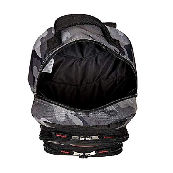 Trailmaker Tactical Backpack 6 Trailmaker Tactical Military Style Camo Backpack with Lash Tabs and Padded Back and Straps, Grey