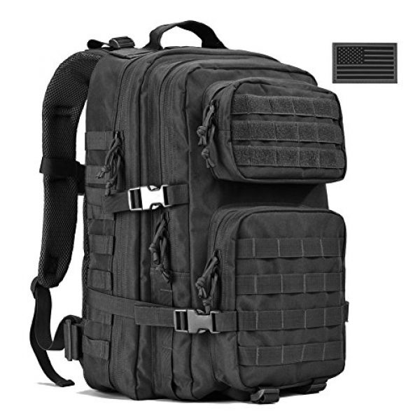 REEBOW GEAR Tactical Backpack 2 Military Tactical Backpack 40L Assault Pack Army Molle Bug Out Bag Backpacks