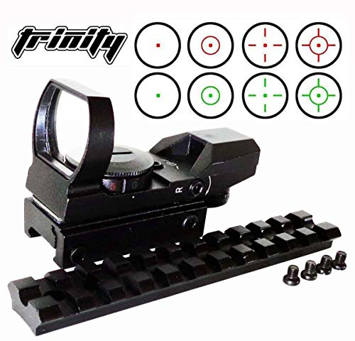 TRINITY Rifle Scope 4 Trinity Ruger 10 22 Replacement Sight and Rail Mount kit