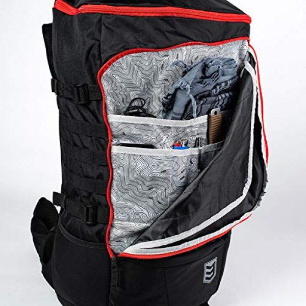 3V Gear Tactical Backpack 4 3V Gear Sovereign Redline Internal Frame Backpack - 50 Liter