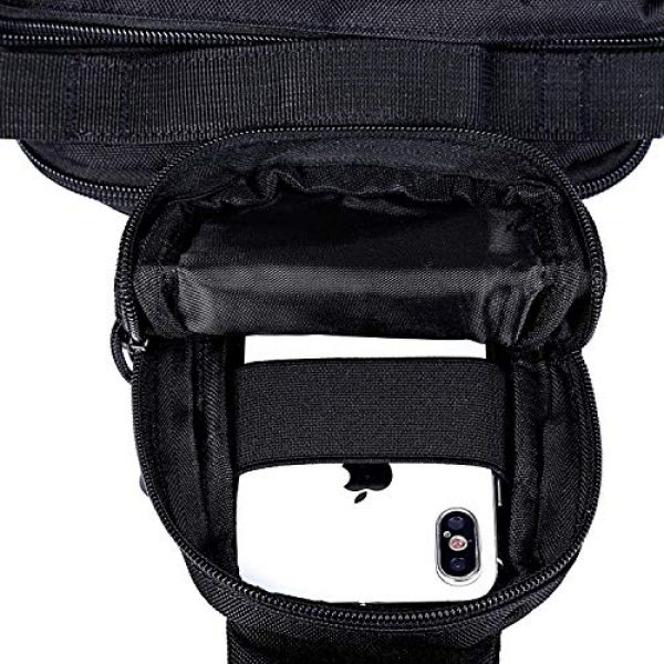 G4Free Tactical Backpack 7 G4Free Tactical Sling Backpack for Every Day Carry