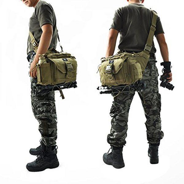SHANGRI-LA Tactical Backpack 3 SHANGRI-LA Multi-functional Tactical Messenger Bag Camera Molle Assault Gear Sling Pack