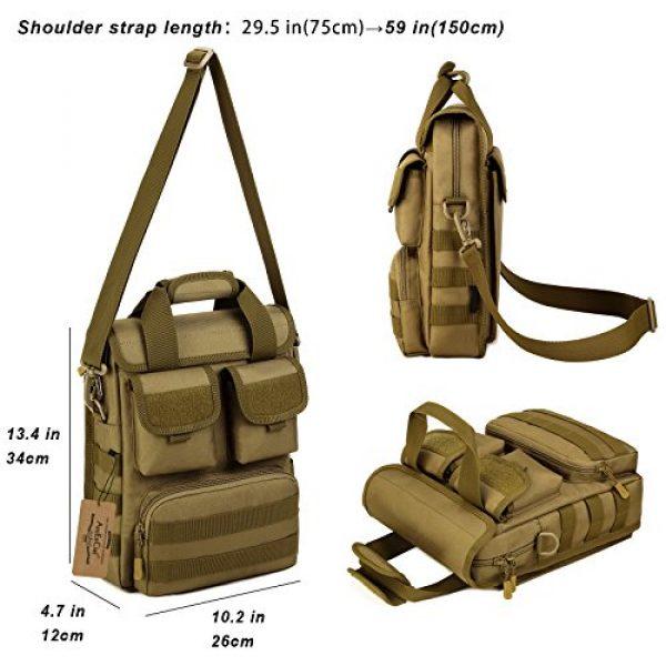 ArcEnCiel Tactical Backpack 4 ArcEnCiel Tactical Messenger Bag Men Military MOLLE Sling Shoulder Pack Briefcase Assault Gear Handbags Utility Carry Satchel