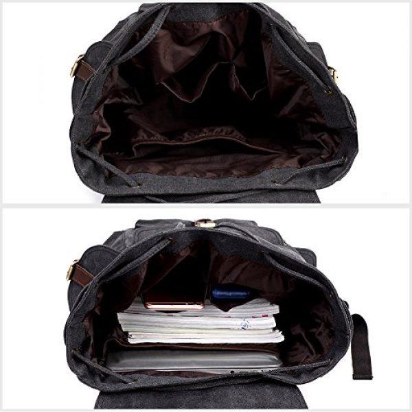 KAUKKO Tactical Backpack 5 Vintage Canvas Backpack Kaukko Outdoor Travel Hiking Rucksack School Bookbags