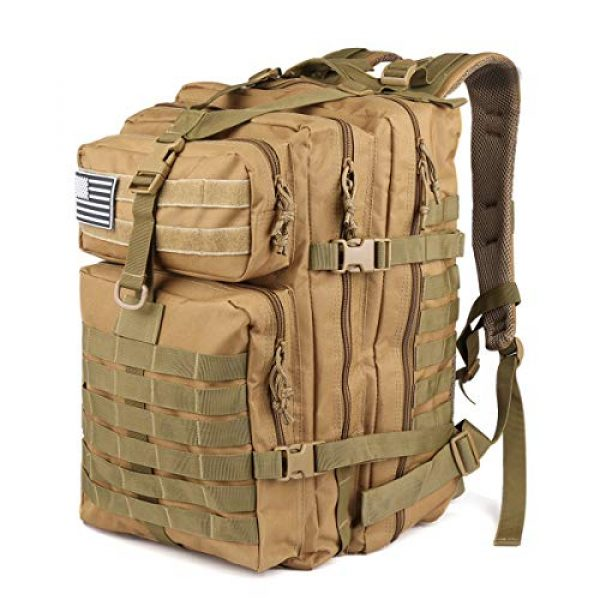 ROARING FIRE Tactical Backpack 1 ROARING FIRE Tactical Backpack, Army Assault Pack, Molle Backpack for The 3 Day Pack, Bug Out Bag 45L