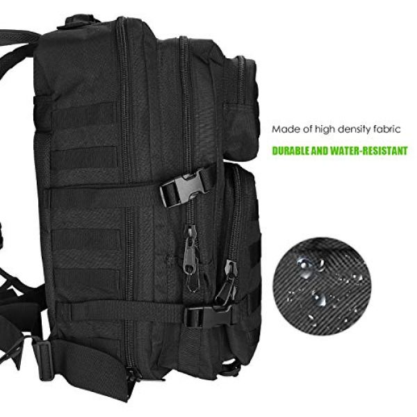ProCase Tactical Backpack 2 ProCase Tactical Backpack Bag 40L Large 3 Day Military Army Outdoor Assault Pack Rucksacks Carry Bag Backpacks