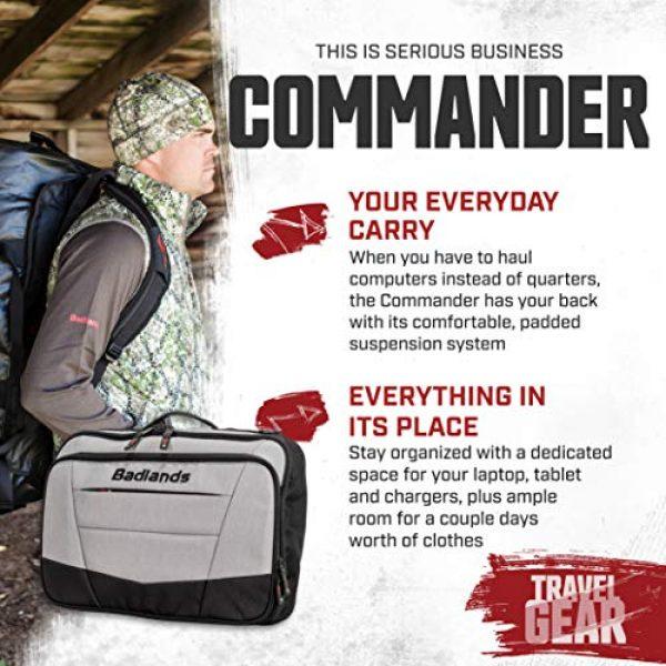 Badlands Tactical Backpack 2 Badlands Commander Laptop Pack - Padded Laptop Backpack