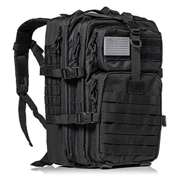 XFINDER POWERED BY PINE GROVE POWERSPORTS Tactical Backpack 1 XFinder Military Tactical Backpack/Sling Bag Molle Bug Out Bag Combat Pack Comfortable Backpack