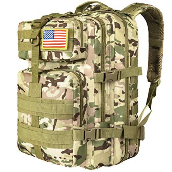 CVLIFE Tactical Backpack 1 CVLIFE Military Tactical Backpack Army 3 Day Assault Pack Molle Bag EDC Rucksack