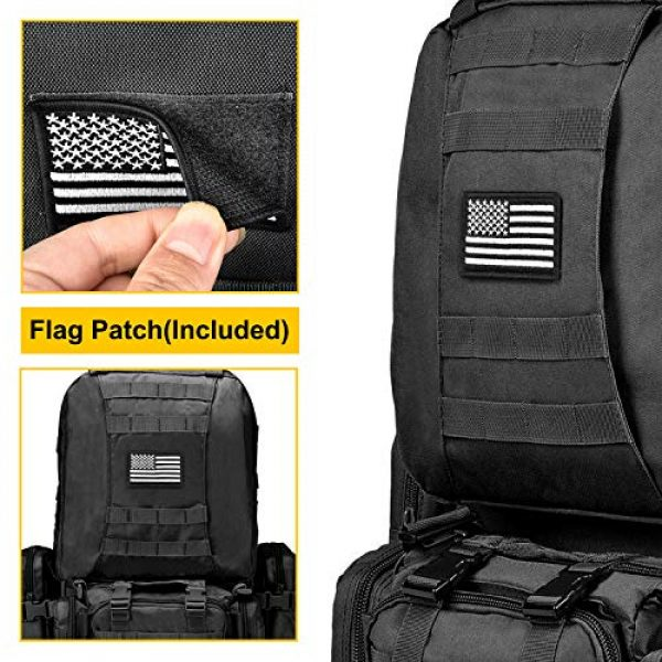 NOOLA Tactical Backpack 5 NOOLA Tactical Military Backpack Army Assault Pack Molle Bag Built-up Rucksack