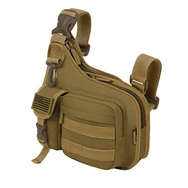 East West U.S.A Tactical Backpack 2 East West U.S.A RT518 Tactical Shoulder Sling Gun Range Holsters Cases Utility Bag