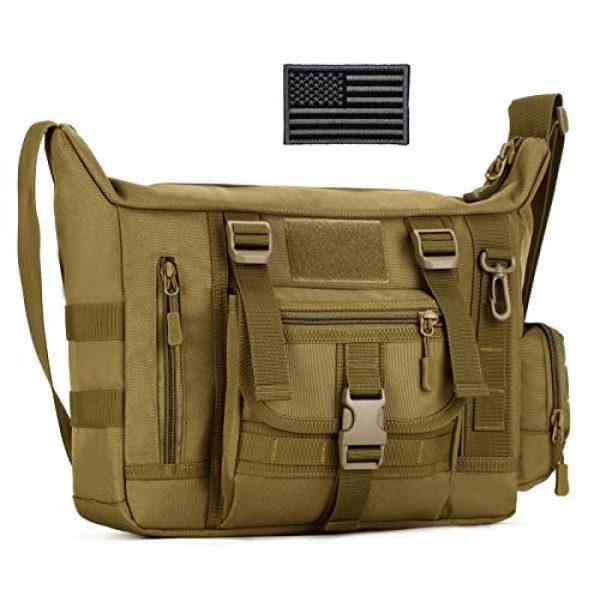 ArcEnCiel Tactical Backpack 1 ArcEnCiel Tactical Messenger Bag Men Military MOLLE Sling Shoulder Pack with Patch