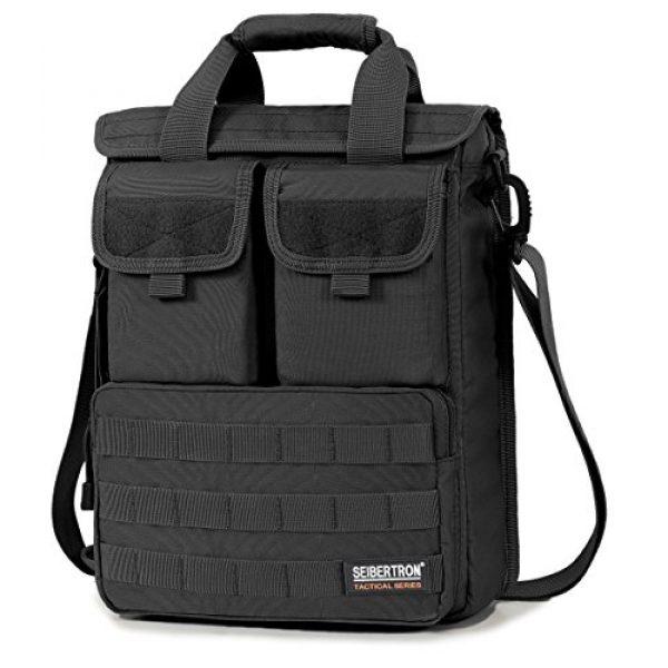 Seibertron Tactical Backpack 1 Seibertron Field Tech Shoulder Bag Tactical Response Laptop Attache Case