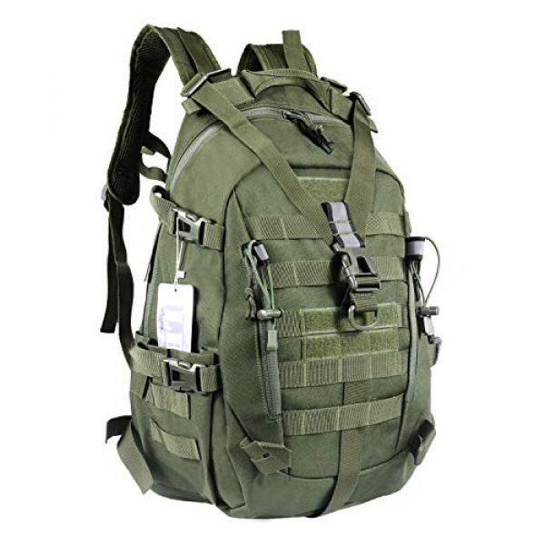 LHI Tactical Backpack 1 LHI Military Tactical Backpack for Men and Women 45L Army 3 Days Assault Pack Bag Large Rucksack with Molle System