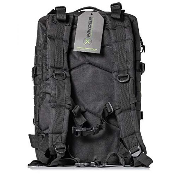 XFINDER POWERED BY PINE GROVE POWERSPORTS Tactical Backpack 2 XFinder Military Tactical Backpack/Sling Bag Molle Bug Out Bag Combat Pack Comfortable Backpack
