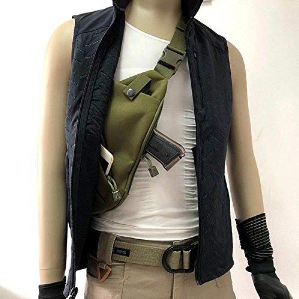 LIVIQILY Tactical Backpack 4 Men's Shoulder Bag Gun Case Single Bag Tactical Gun Bag Pistol Hand Soft Pistol Cases