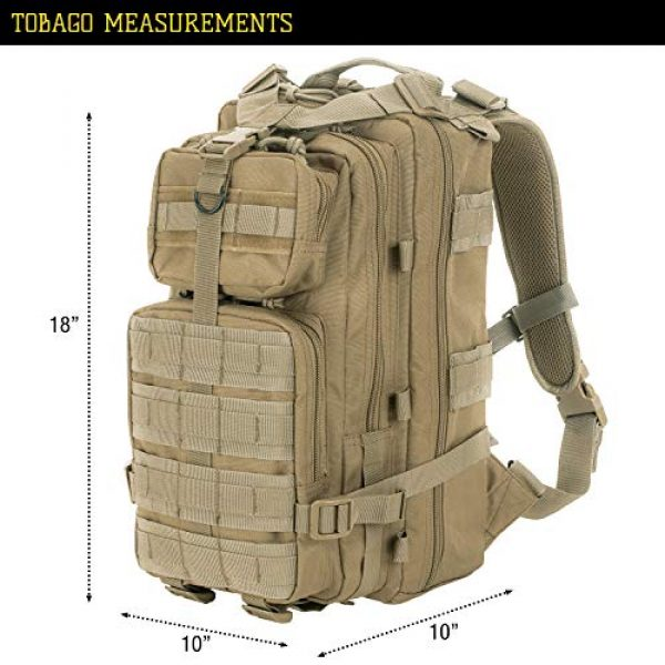 VooDoo Tactical Tactical Backpack 5 VooDoo Tactical Level III MOLLE Compatible Assault Pack
