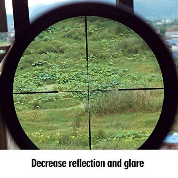 Stronerliou Rifle Scope 6 Stronerliou Advanced Optic Rifle Sunshade Black Shade Tube for Standard Rifle Scope