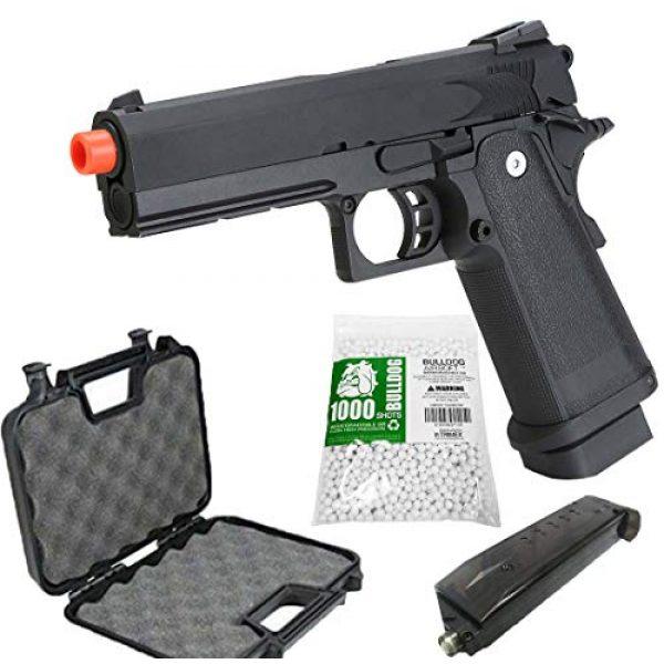 BULLDOG AIRSOFT Airsoft Pistol 1 SRC Hi-Capa 5.1 Gas Airsoft Pistol [Airsoft Blowback]