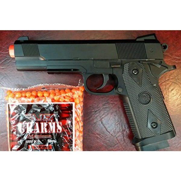 SPRING AIRSOFT GUN Airsoft Pistol 1 heavy duty metal spring airsoft gun pistol with free 1000 bb's bullets ammo(Airsoft Gun)