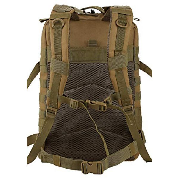 Luckin Packin Tactical Backpack 5 Luckin Packin Tactical Backpack,Military Backpack 45L with Tactical Sling Bag Khaki