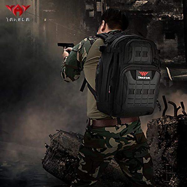 vAv YAKEDA Tactical Backpack 6 vAv YAKEDA Military Tactical Backpack for Men Army 3 Day Assault Pack 42L Large Molle Hiking Backpack