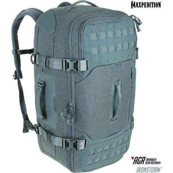 Maxpedition Tactical Backpack 3 Ironstorm Adventure Travel Bag 62L