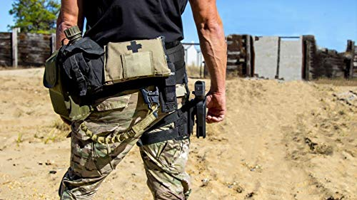 EMERSONGEAR Tactical Belt 7 EMERSONGEAR Padded Battle Belt Tactical Combat Belt MOLLE Modular Patrol Duty Waist Belt with Mesh Lining for Airsoft Shooting Paintball Hunting