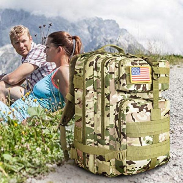 NOOLA Tactical Backpack 6 NOOLA Military Tactical Backpack Large Army 3 Day Assault Pack Molle Bag Rucksack
