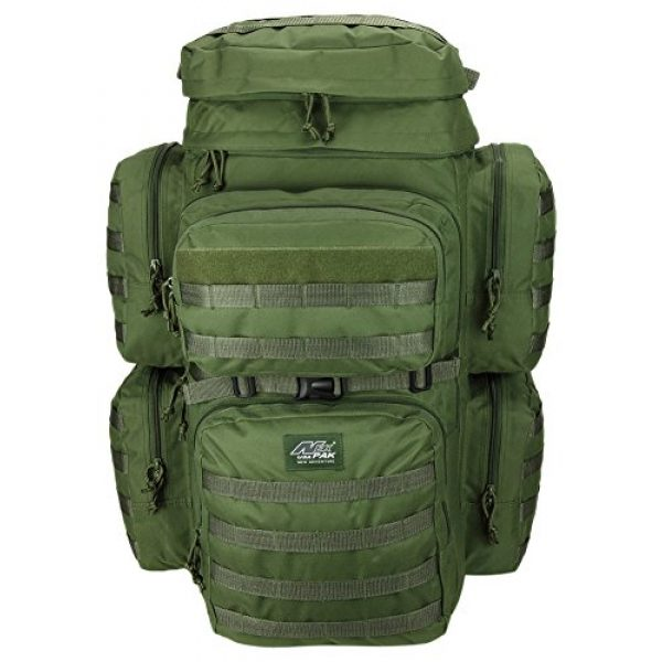 NPUSA Tactical Backpack 3 Mens 26 Inch Large Military Tactical Gear Molle Hydration Ready Hiking Backpack Bag + Sunglasses