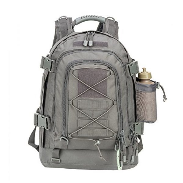 ARMYCAMO Tactical Backpack 2 Outdoor 3 Day Expandable 40-64L Backpack Military Tactical Hiking Bug Out Bag
