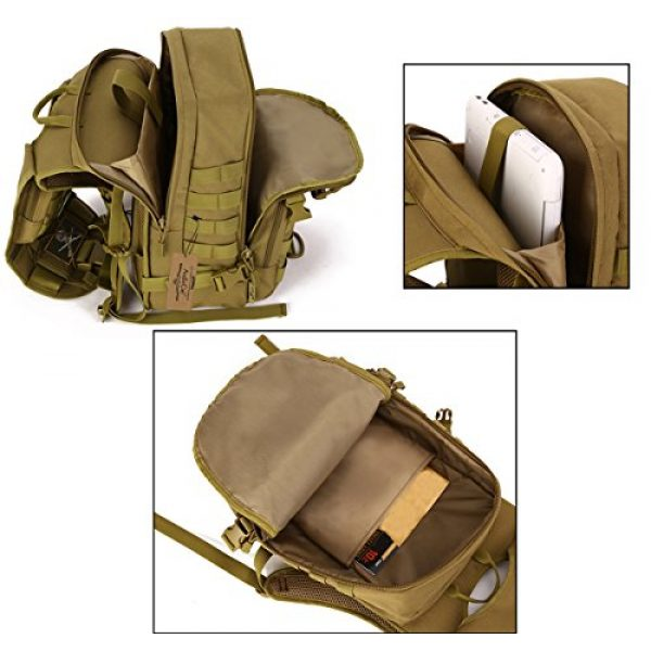 ArcEnCiel Tactical Backpack 6 ArcEnCiel Tactical Backpack Military Army 3 Day Assault Pack - Rain Cover Included