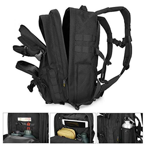 LeisonTac Tactical Backpack 4 LeisonTac Enhanced Tactical Backpack with Military ISO Standard