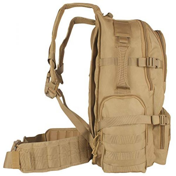 Fox Outdoor Tactical Backpack 3 Fox Outdoor Products Field Operator's Action Pack, Coyote