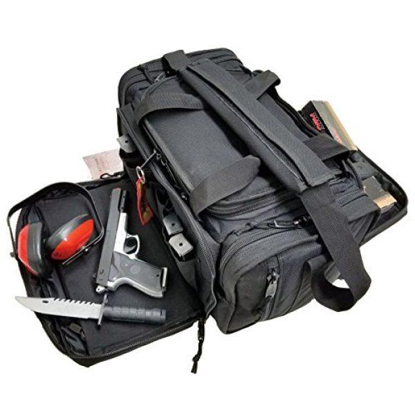 Explorer Tactical Backpack 3 EXPLORER Large Padded Deluxe Tactical Range Bag Gear Tactical Shoulder Modular