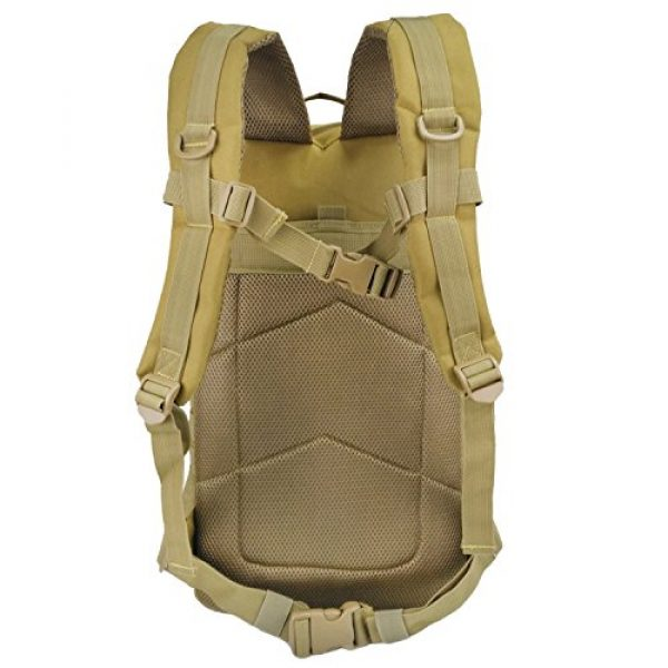 WEDO Tactical Backpack 5 Tactical Backpack for Men, Large Black Military Army Molle Bag Tactical Backpacks