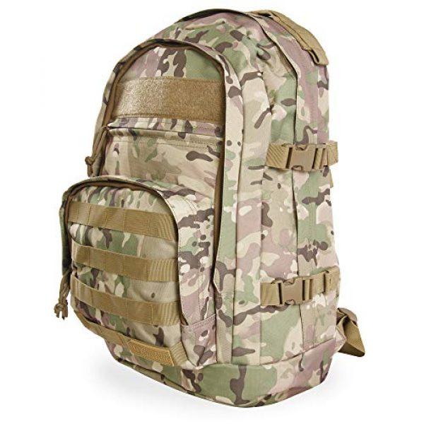 HIGHLAND TACTICAL Tactical Backpack 2 Highland Tactical Men's Basecamp Heavy Duty Tactical Backpack