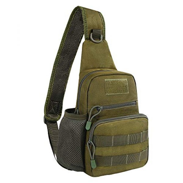 EDOBIL Tactical Backpack 1 EDOBIL Tactical Bag, Messenger Bag Best Outdoor Sling Bag for Men and Women - Small One Military Bag for Trekking,Camping,Hiking,Cycling Rover Sling Daypack