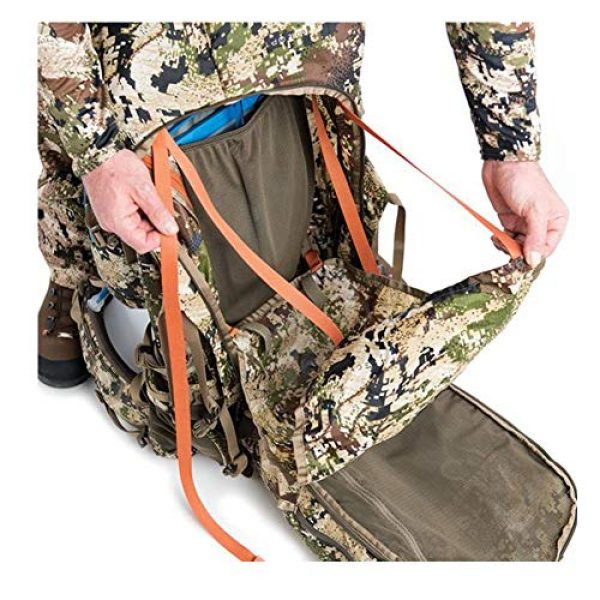 SITKA Gear Tactical Backpack 5 Sitka Mountain Hauler 4000 Framed Expandable Hunting Pack