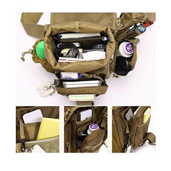 Klau Tactical Backpack 7 Klau Outdoor Sport Military Women and Men's Multi-Functional Tactical Messenger Shoulder Bag